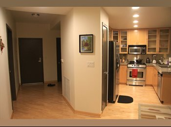 EasyRoommate US - Furnished Belltown Room in luxury condo - Downtown Seattle, Seattle - $1125