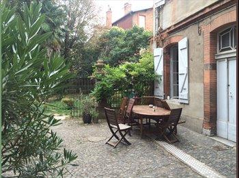 Appartager FR - Sous-location avec jardin à Saint Sernin - Toulouse, Toulouse - €400