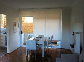 EasyRoommate AU - Beach lifestyle - Clean bright sunny apartment - Bondi, Sydney - $1200