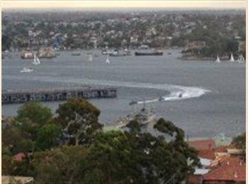 EasyRoommate AU - Waverton Dble rm, fullyfurn, Views, parkg, pools - Waverton, Sydney - $1380