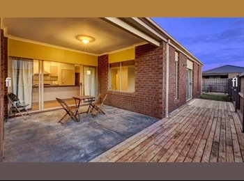 EasyRoommate AU - Large Safe Drug Free And Friendly Home - Wyndham Vale, Melbourne - $693