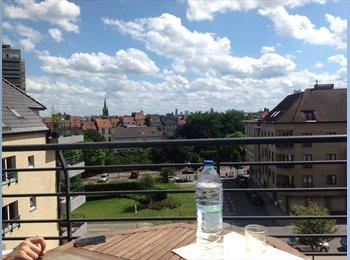 Appartager BE - Chambre dans Duplex à 10 min de la CEE - le Pentagone (centre ville), Bruxelles-Brussel - €600