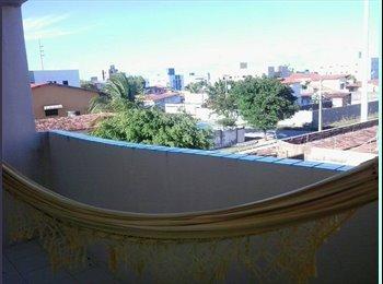 EasyQuarto BR - Alugo suite em casa no manaira - Outros, João Pessoa - R$600