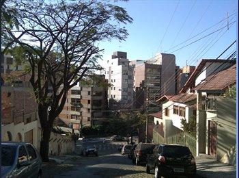 EasyQuarto BR - More no melhor bairro de BH no Mangabeiras!!!!! - Sion, Belo Horizonte - R$900