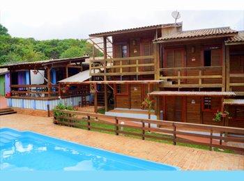 EasyQuarto BR - Curitiba Eco Village II - Ecoville, Curitiba - R$1000