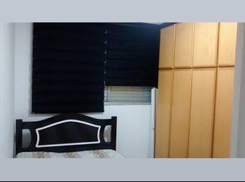 EasyQuarto BR - Qto Mobiliado indiv - a pessoa e eu - com garagem! - Jabaquara, São Paulo capital - R$1150