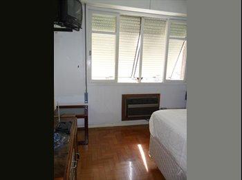 EasyQuarto BR - EXCELENTE QUARTO DE FRENTE NO BONFIM - Centro, Porto Alegre - R$600