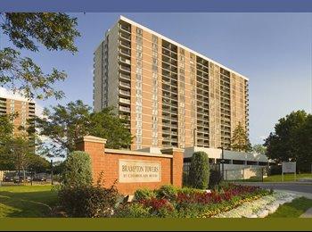 EasyRoommate CA - Urgent-Require 1 Roommate, 1 BHK, Brampton towers - East Toronto, Toronto - $500