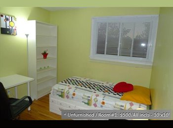 EasyRoommate CA - Room for rent $500 all inclusive, Nepean, Ottawa - Other Ottawa, Ottawa - $500