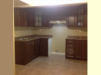 EasyRoommate CA - 2 B.ROOM BASEMENT APARTMENT. SEP. ENTRANCE, MILTON - Mississauga, South West Ontario - $1200