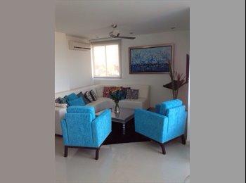 CompartoApto CO - Alquilo Habitacion Pent House Al Norte  - Barranquilla, Barranquilla - COP$*