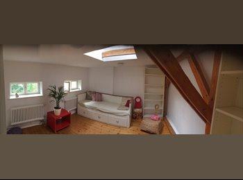 EasyWG DE - Hübsches Dachgeschosszimmer in Einfamilienhaus zu vermieten - Zehlendorf, Berlin - €400