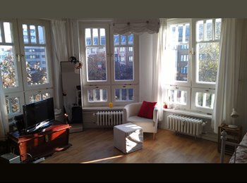EasyWG DE - Helles 21m² Zimmer in Kreuzberg für 6 Wochen - Kreuzberg, Berlin - €350