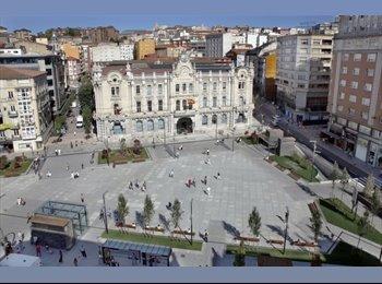 EasyPiso ES - Habitación CENTRO Santantader - Centro Ciudad - Ayuntamiento, Santander - €250
