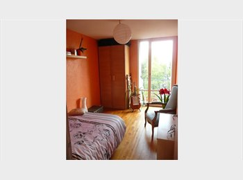 Appartager FR - CHAMBRE CALME SPATIEUSE & LUMINEUSE VILLEJEAN - Villejean - Beauregard, Rennes - €325