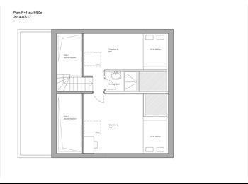 Appartager FR - Maison à partager - 4 chambres disponibles - Fontenay-sous-Bois, Paris - Ile De France - €650