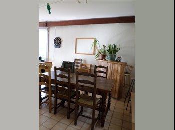 Appartager FR - Chambre dans grande maison de 200m² - Laxou, Nancy - €270