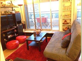 Appartager FR - Superbe Studio meublé de 28 m2 avec balcon. - 13ème Arrondissement, Paris - Ile De France - €550