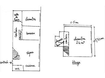 Appartager FR - Chambre meublée 24m2 près du métro dans duplex - Aubervilliers, Paris - Ile De France - €360