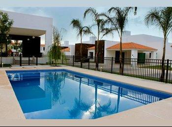CompartoDepa MX - Al sur, en renta CUARTOS enfrente de La Universidad Politécnica de Aguascalientes - Aguascalientes, Aguascalientes - MX$2400