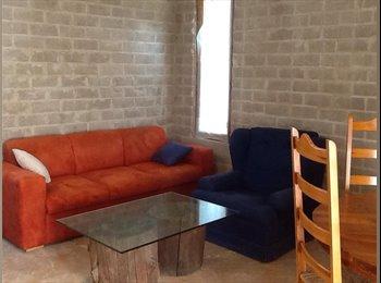 CompartoDepa MX - renta bonito departamento en Tonantzintla - Cholula, Cholula - MX$4500