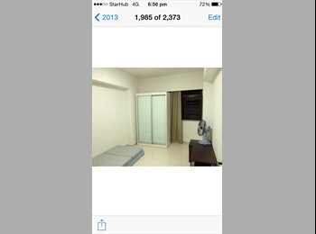 EasyRoommate SG - 2 common rooms available - 7-10 mins to MRT - Sembawang, Singapore - $680