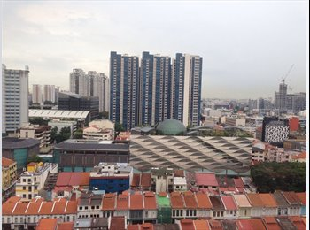EasyRoommate SG - common room for rent in a 4-room flat - Rochor, Singapore - $850