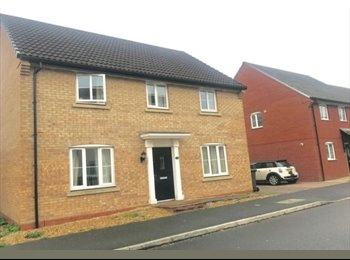 EasyRoommate UK - STUNNING Double room - A MUST SEE - Coalville, N.W. Leics and Chamwood - £350