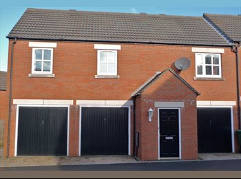 EasyRoommate UK - Stoke Gifford. Single room in coach-house. - Stoke Gifford, Bristol - £300