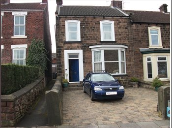 EasyRoommate UK - spare room with live in landlord - Moorgate, Rotherham - £368