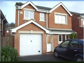 EasyRoommate UK - 2 Large Double Rooms, Large Detached House - Chesterfield, Chesterfield - £400