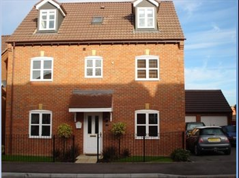 EasyRoommate UK - Double Room with Private Bathroom - Coalville, N.W. Leics and Chamwood - £400