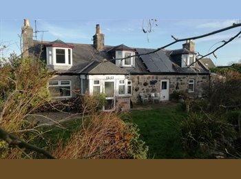 EasyRoommate UK - Double bedroom in traditional cottage - Portlethen, Aberdeen - £550