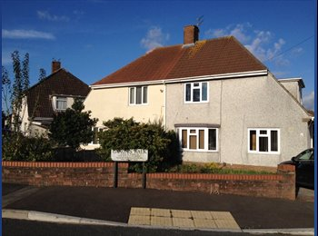 EasyRoommate UK - Double Room - Large Kingswood Garden Semi - Soundwell, Bristol - £430