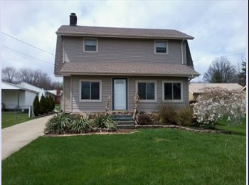EasyRoommate US - 1 BR Available in 3 BR House, Great Location!!! - Youngstown, Other-Ohio - $500