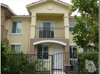 EasyRoommate US - Share a Beautiful, New, 4-Bdr. Townhome - Thousand Oaks, Ventura - Santa Barbara - $650