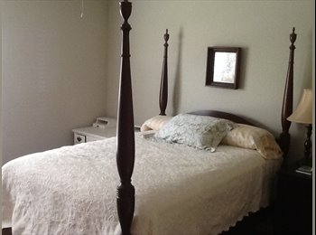 EasyRoommate US - Furnished bedroom w/private bath in upscale apt - Montgomery, Montgomery - $500