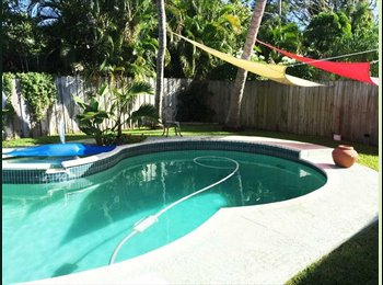 EasyRoommate US - Share in Pool Home - Pompano Beach 3, Ft Lauderdale Area - $800