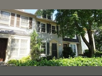 EasyRoommate US - 2BR, 3.5 BA Townhome Montgomery Village, MD - Gaithersburg, Other-Maryland - $700