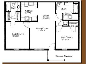 EasyRoommate US - 1/br 1/ba for rent. $1200 sign on bonus! - Tuscaloosa, Tuscaloosa - $495