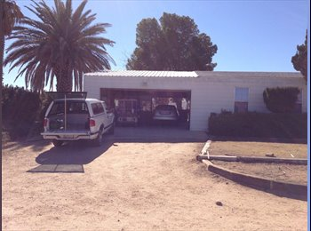 EasyRoommate US - Ranch style house on 14 acres - Barstow, Southeast California - $450