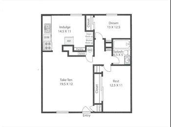 EasyRoommate US - Seeking Animal Lover for Apartment Near Light Rail - Lakewood, Lakewood - $550