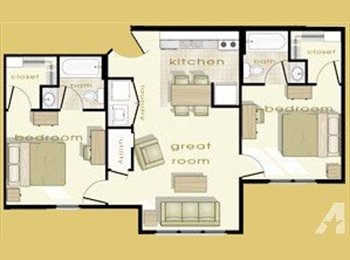EasyRoommate US - 2 Rooms to Rent for College Students - Murfreesboro, Murfreesboro - $505