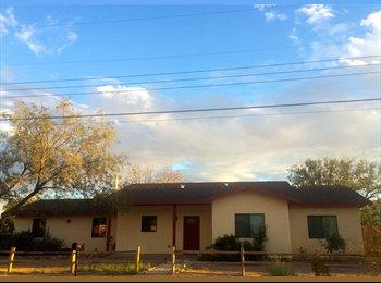 EasyRoommate US - One furnished/One unfurnished room available - Tucson, Tucson - $475