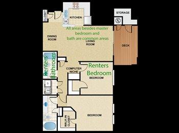 EasyRoommate US - Room for rent in 2 bedroom Apt - Camarillo, Ventura - Santa Barbara - $850