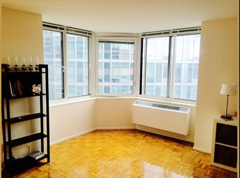 EasyRoommate US - Beautiful Room In Luxury 2BDR Spacious & Sunny Apt - Midtown West, New York City - $2050
