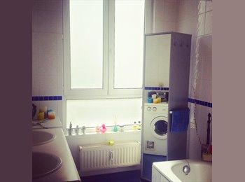 Appartager BE - Flagey nice furnished room/private shower&terrace - Ixelles-Elsene, Bruxelles-Brussel - €480