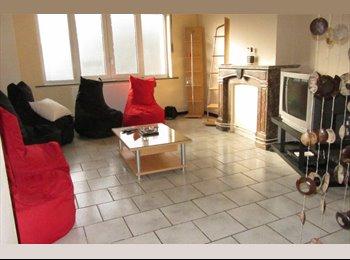Appartager BE - Chambre de 20m² dans maison unifamiliale. - Saint-Nicolas, Liège-Luik - €280