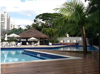 EasyQuarto BR - Vaga em apartamento de alto padrão Morumbi/Brookli - Morumbi, São Paulo capital - R$1400
