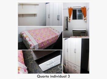EasyQuarto BR - Quarto em apartamento no Rio Vermelho!! carnaval - Cidade Alta, Salvador - R$600